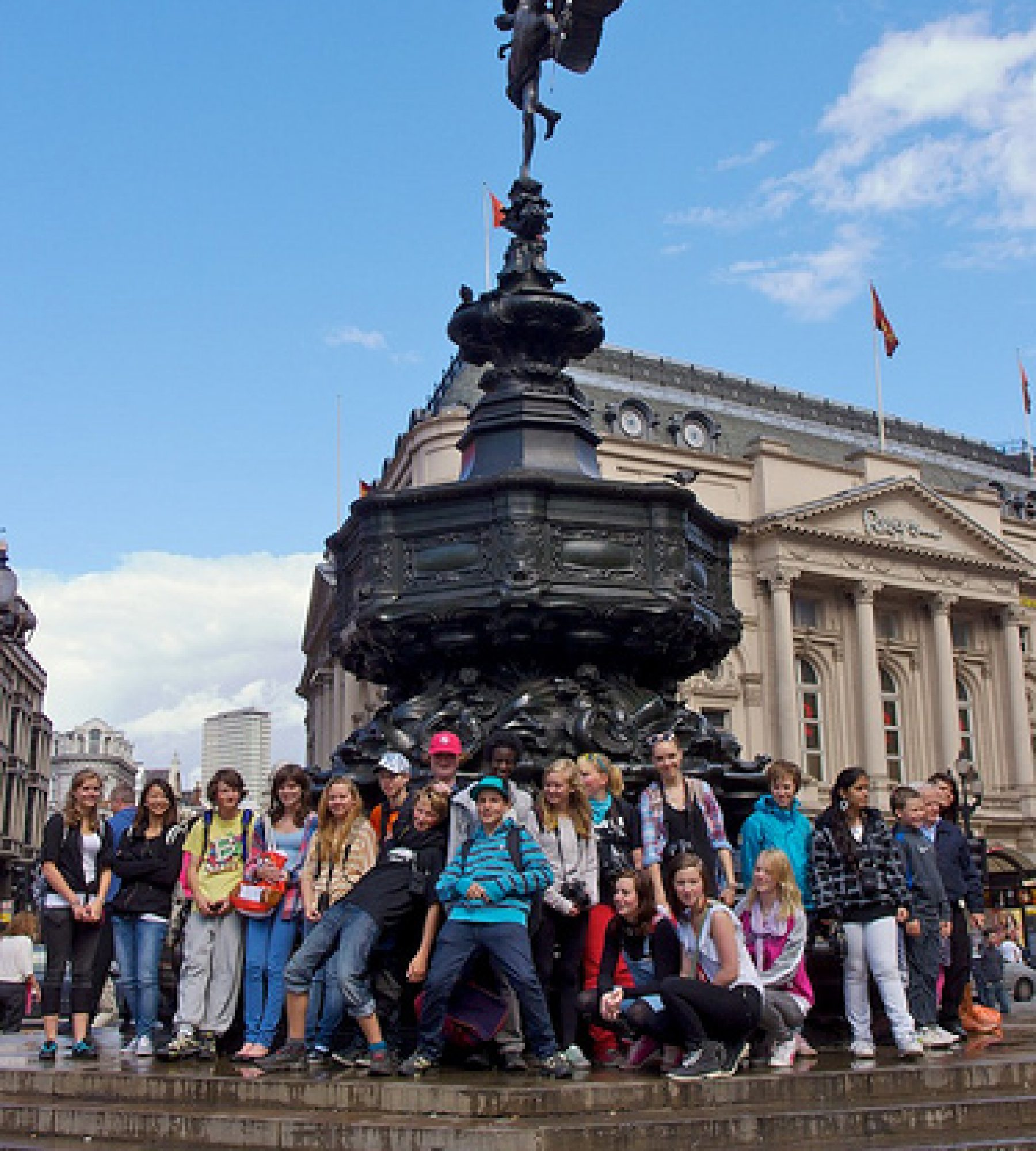 Excursion students