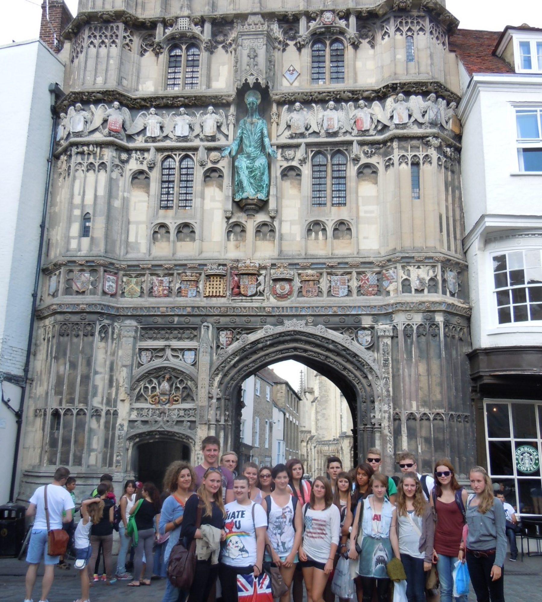 Students in Canterbury